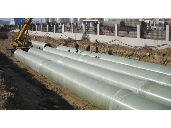 玻璃鋼夾砂管道施工案例