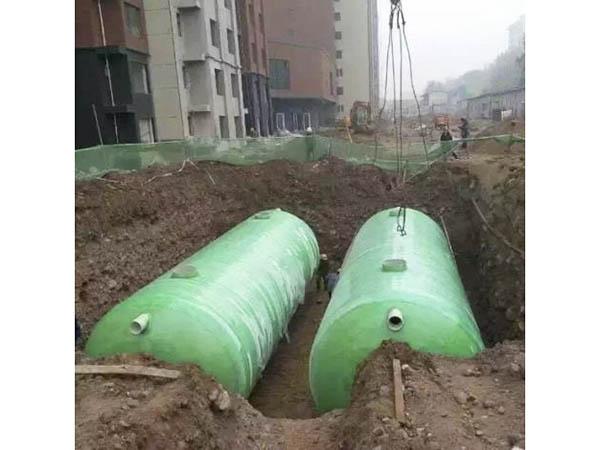 江西玻璃鋼化糞池施工案例 (2)
