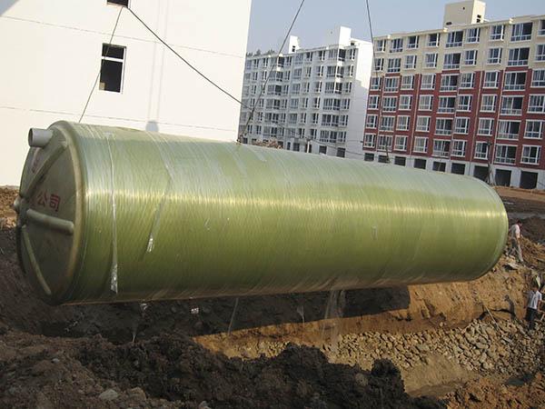 江西玻璃鋼化糞池施工案例 (1)