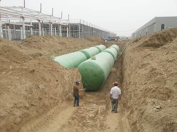江西玻璃鋼化糞池施工案例 (3)